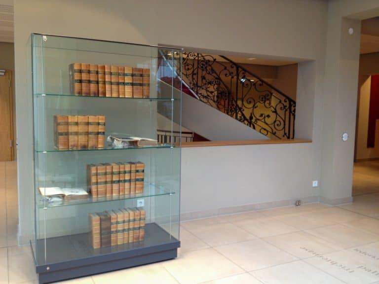 Galerie-Lobby Vitrine