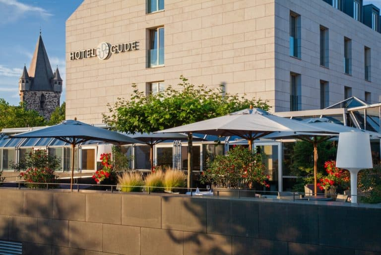 Galerie-Terrasse Haus 1 Hotel Gude 01