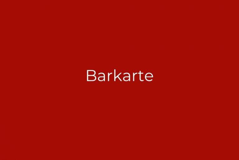 Barkarte